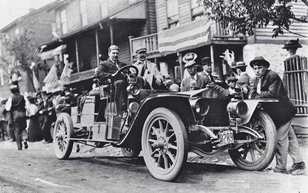 1908 une des premieres silver ghost aux usa