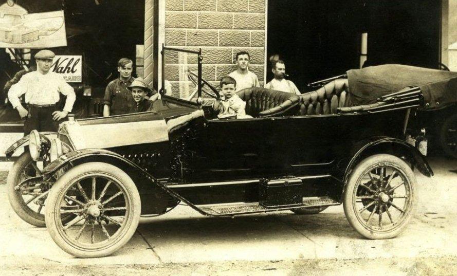 1913 wahl tourer