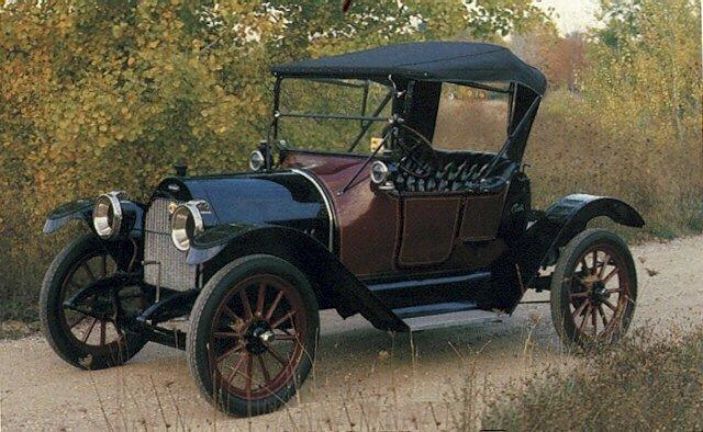 1914 chevrolet type h royal mail roadster