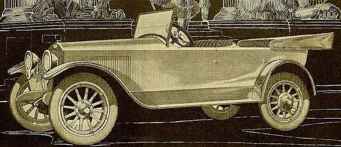 1919 auburn beauty six