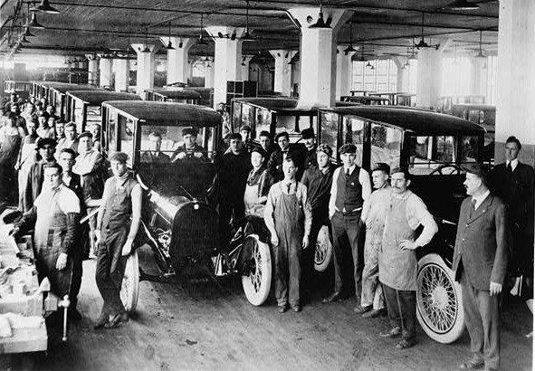 1919 sedan l usine
