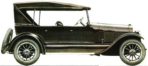 1921 lincoln model l tourer