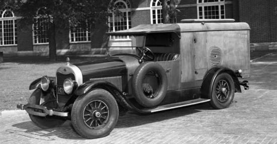 1922 lincoln kitchen truck