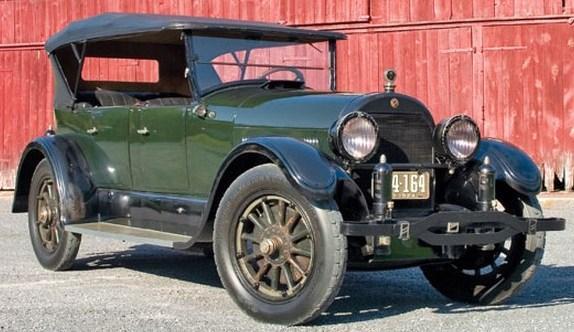 1924 cadillac touring phaeton model v 63