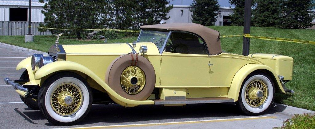 1926 playboy roadster by brewster