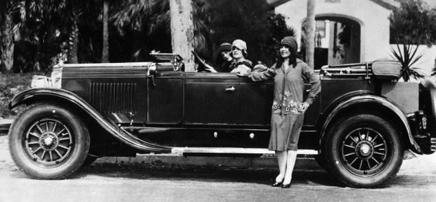 1927 cadillac phaeton