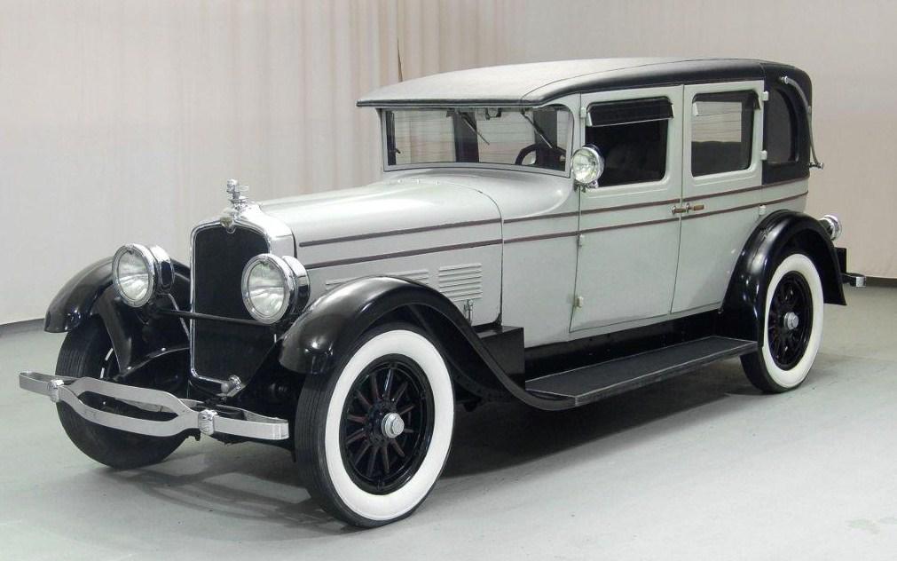 1927 stutz model aa brougham