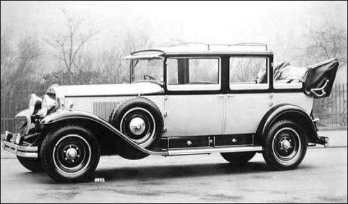 1928 341a landaulette
