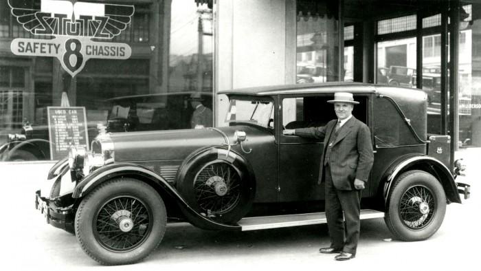 1928 stutz weymann