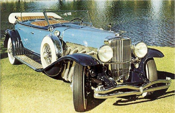 1929 duesenberg model j dual cowl phaeton murphy