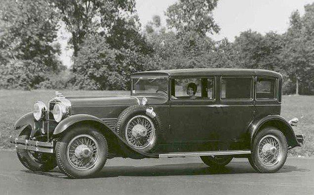 1929 stutz eight type 65 lebaron sedan limo