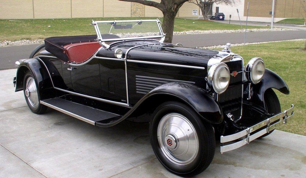 1929 stutz m lebaron 2 place roadster