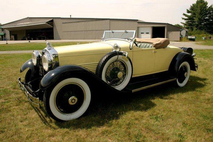 1929 stutz model m roadster lebaron