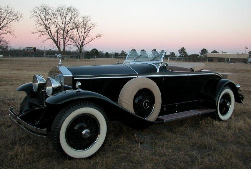 1929 york roadster by brewster roues a rayons