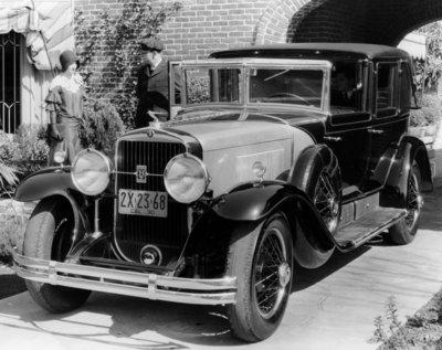 1930 355 formal town car