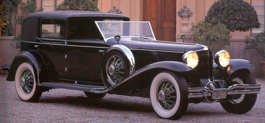 1930 cordl29 towncar by murphy