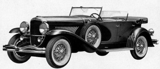 1930 duesenberg phaeton copie
