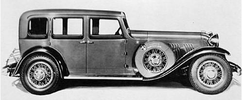 1930 gardner model 136 front wheel drive 4 door sedan