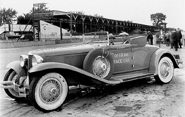 1930 indy 500 pace car