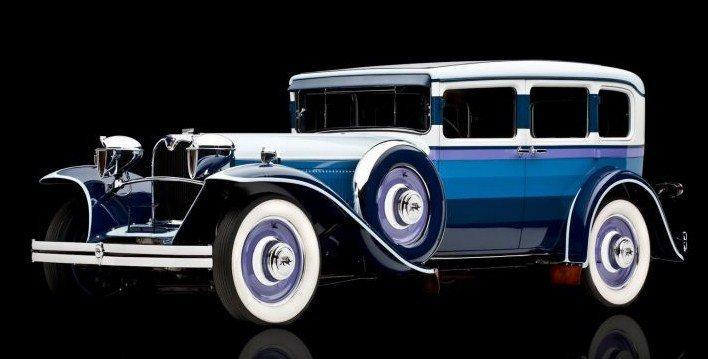 1930 ruxton sedan dessin