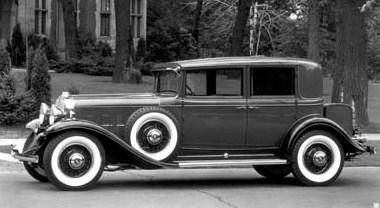 1931 370 a town sedan