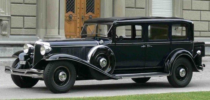 1931 chrysler cg limousine