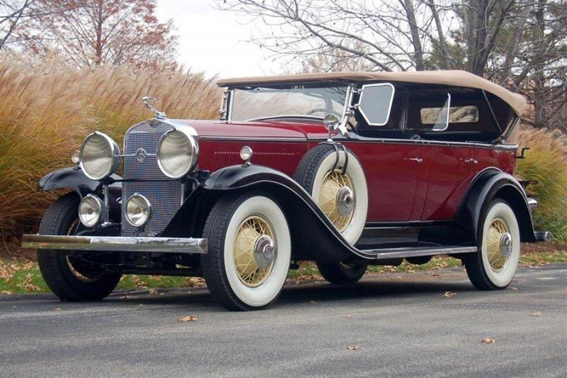 1931 lasalle 345a touring 1