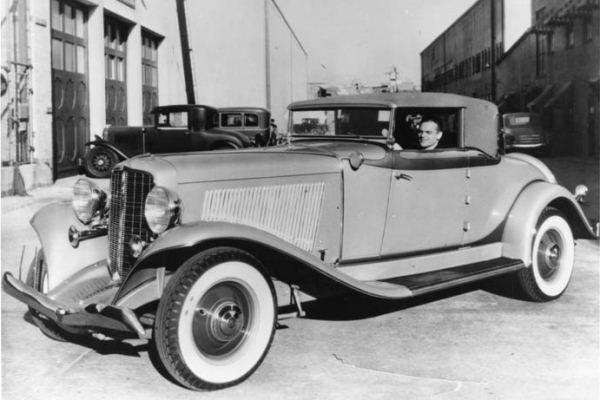 1932 auburn cabriolet de james cagney