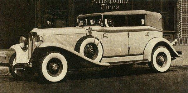 1932 auburn convertible sedan