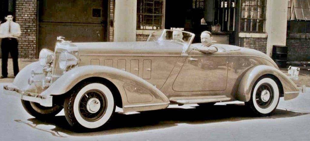 1932 chrysler imperial custom speedster