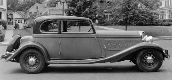 1932 franklin twelve club brougham