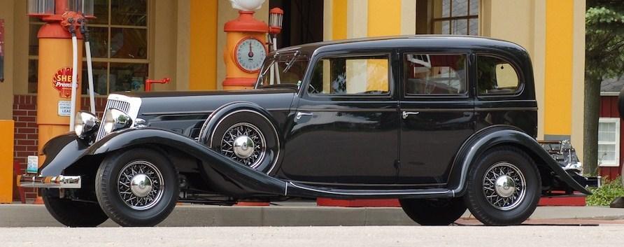 1932 franklin twelve sedan