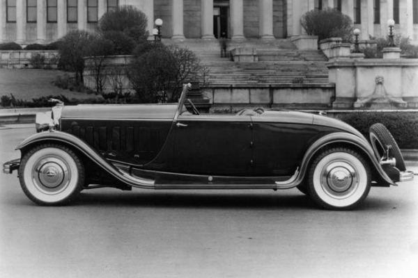 1932 lincoln kb convertible coupe
