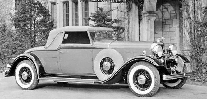 1932 lincoln kb lebaron roadster