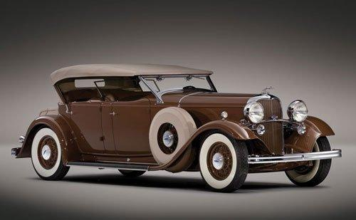 1932 lincoln kb phaeton brunn