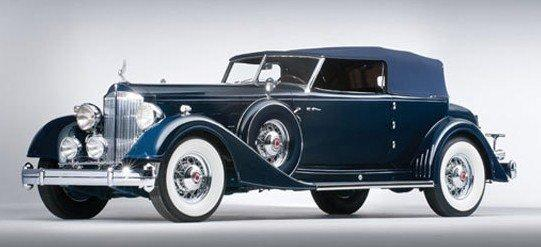 1932 packard twin six convertible victoria