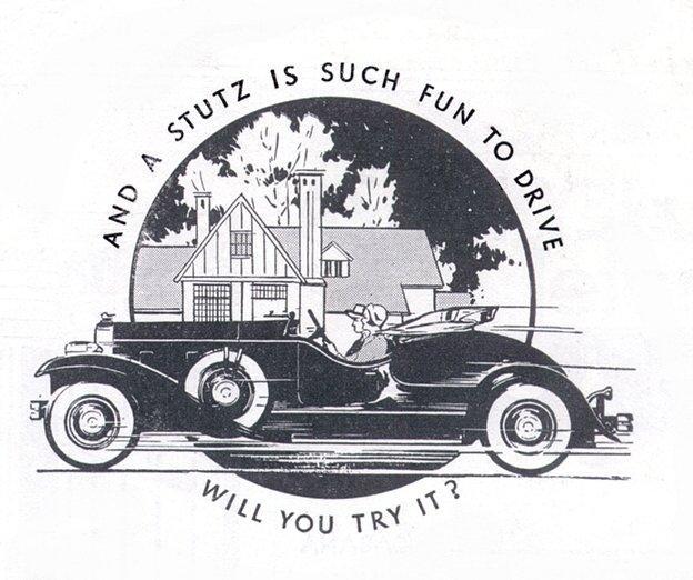 1932 publicite stutz