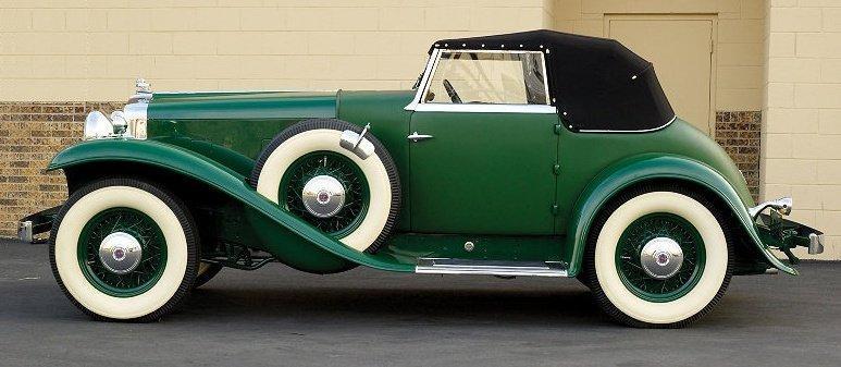 1932 stutz dv 32 weymann super bearcat
