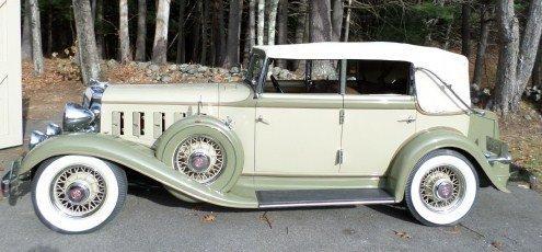 1933 chrysler cq imperial convertible sedan