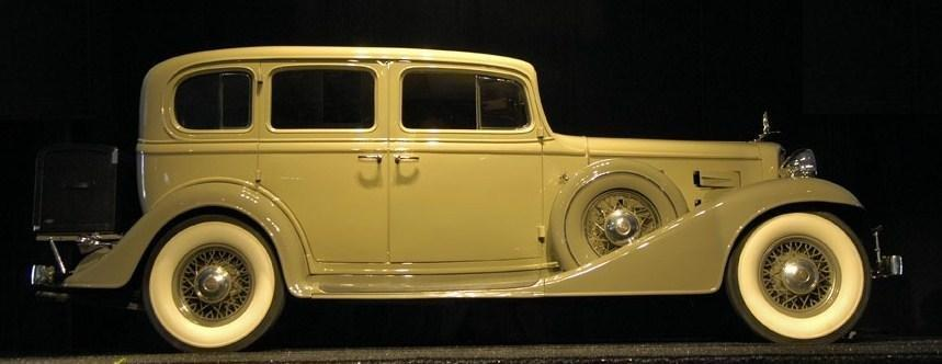1933 lasalle 345c sedan 1
