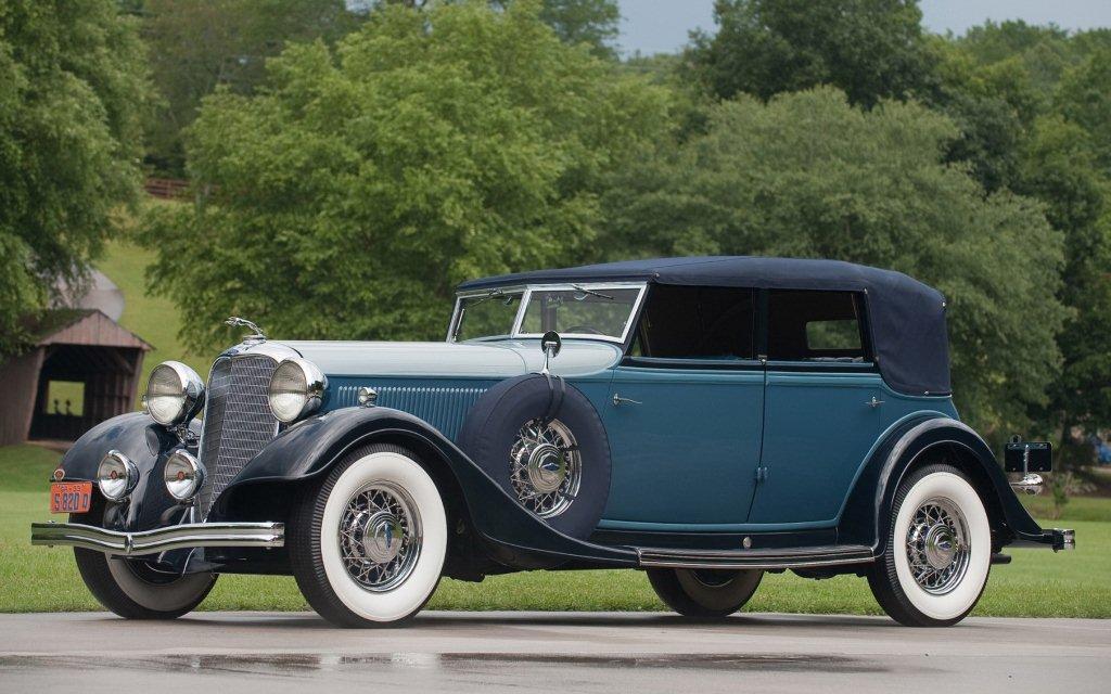 1933 lincoln ka dietrich convertible sedan