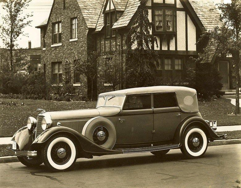1933 lincoln kb convertible sedan