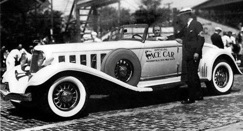 1933 pace car