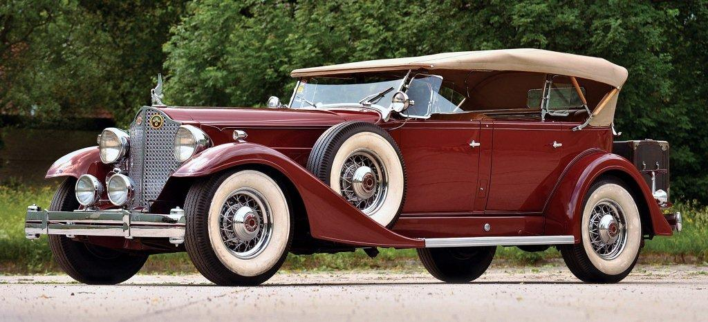 1933 packard twelve sport phaeton