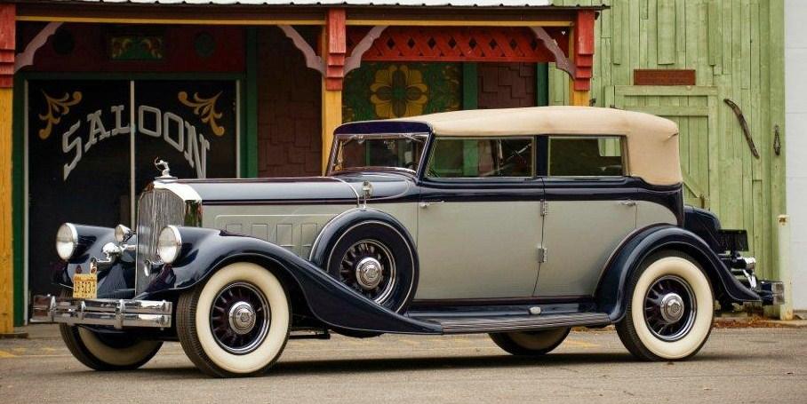 1933 pierce arrow twelve convertible sedan