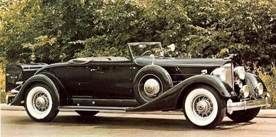 1934 packard twelve sport coupe