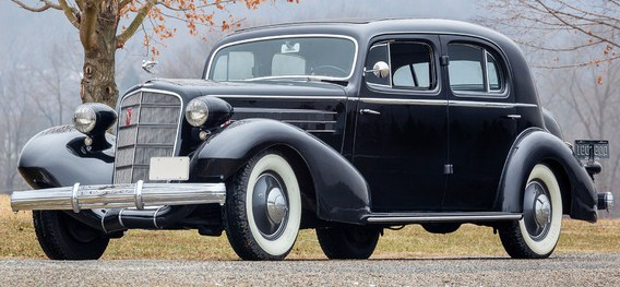 1935 series 30 355d fleetwood town sedan