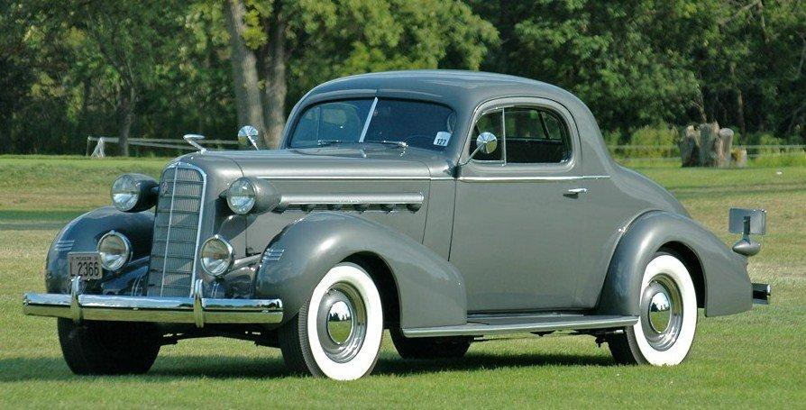 1936 lasalle series 50 coupe 1