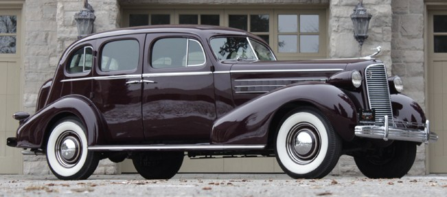 1936 series 70 fleetwood touring sedan