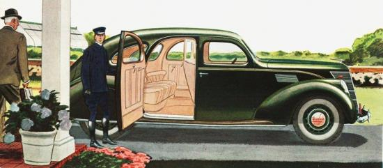 1937 lincoln zephyr town limousine